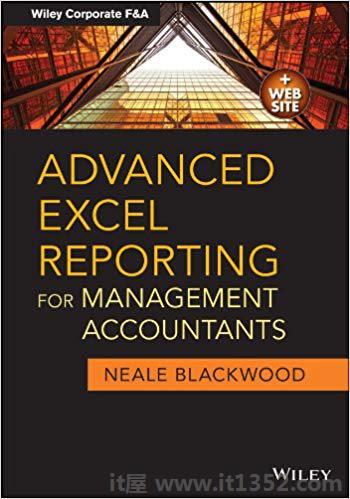 管理会计师的高级Excel报告