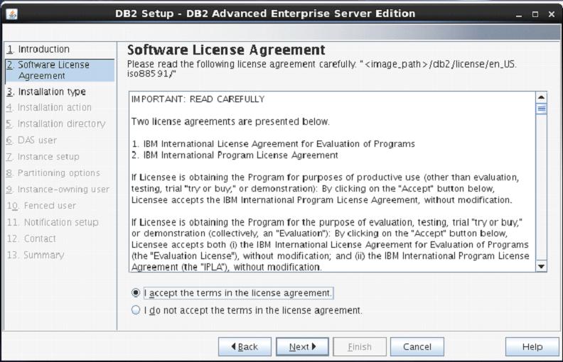 DB2安装向导